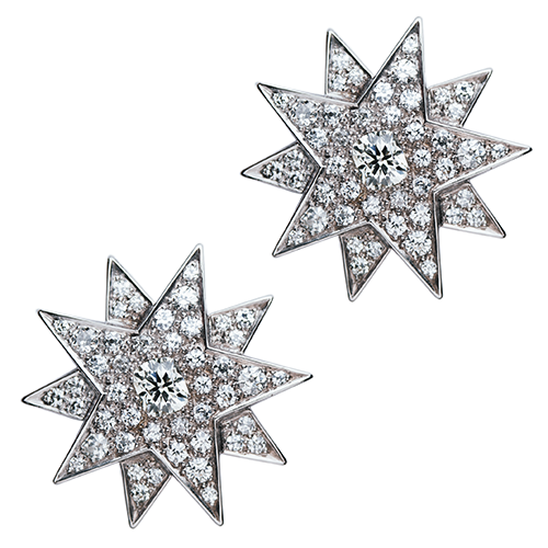 """The first """"Sisi Stars"""" were a gift from Emperor Franz Joseph I to his wife on the occasion of their first wedding anniversary. The stars are also famously worn by the Empress in an oil portrait by Franz Xaver Winterhalter.  © A.E. Köchert Jewellers, Vienna"""